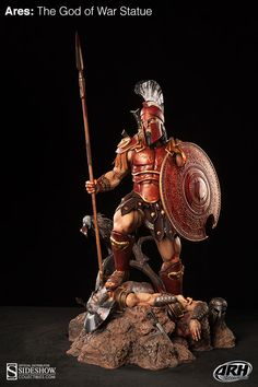 Ares: The God of War Statue by ARH Studios | #Statue #Mythology #Greek