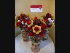 Arreglo Frutal - Edible Arrangement - Regalo para San Valentin - NuestraCasa2013 - YouTube