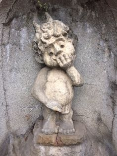 Bielsko-Biala's own 'Manneken Pis' (but cuter), Poland
