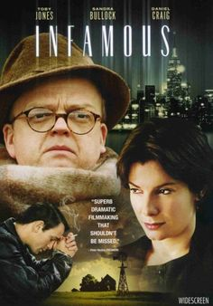 'Infamous' 2006. Starring Toby Jones as Truman Capote and Sandra Bullock as Nelle Harper Lee in this Bio Pic about the legendary author. Jones nails Capote's mannerisms & this film is brighter and less morose than 'Capote' shot around the same time.