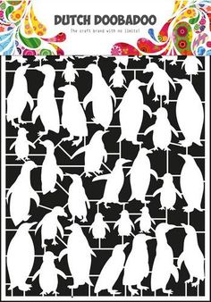 Dutch Paper Art pinguïn  185294/8046