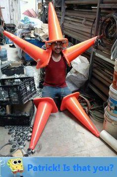 Making a starfish costume on a budget.