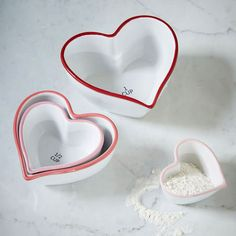 Heart Measuring Cups | west elm