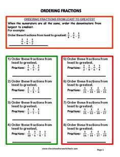 Worksheets Ordering Fractions From Least To Greatest Worksheet 3d shapes math worksheets and cut paste on pinterest check out our collection of at worksheet fractions ordering from least to greatest answer key web
