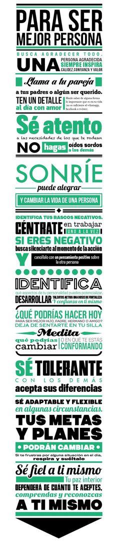 Frases Positivas: Infografía 10 Actitudes Para Ser Mejor Persona - http://alegrar.me/frases-positivas-infografia-10-actitudes-para-ser-mejor-persona/