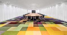 HofmanDujardin's Carpet Tiles for Desso Resemble 19th-Century Paintings