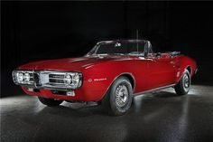 The first two production Pontiac Firebirds ever built will be sold as a pair during Barrett-Jackson's Las Vegas auction October 13-15. Don't miss the chance to register and bid. Online bidding will be provided exclusively by Proxibid.