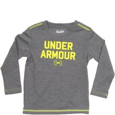 Under Armour Baby Tee in Long Sleeve for Boys « Clothing Impulse