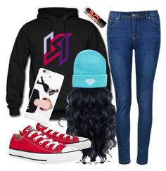 """""""Just Chill..."""" by kaykay-mara ❤ liked on Polyvore featuring Ally Fashion, Converse and sidemen"""