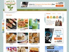 Click to search all recipes on SeededAtTheTable.com by their category and photos.