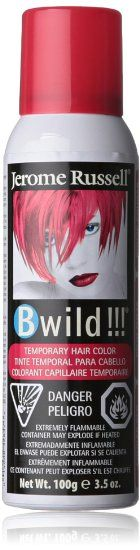 jerome russell B Wild Color Spray, Cougar Red, Ounce Vivid Hair Color, Hair Dye Colors, Undyne Cosplay, Jerome Russell, Temporary Hair Color, Color Spray, Damaged Hair, Dyed Hair, Red