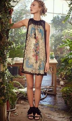 NWT ANTHROPOLOGIE DRESS BY MOULINETTE SOEURS size 4P US size O