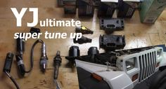Jeep YJ (Wrangler) Super Tune Up | Get that perfect pep & idle - YouTube