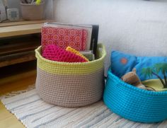 Hey, I found this really awesome Etsy listing at https://www.etsy.com/listing/247714154/large-sized-gray-crochet-basket-large