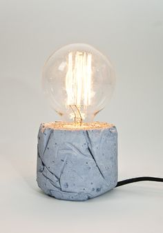 LJ concrete lamps