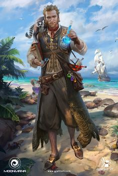 Concept Art World, Fantasy Concept Art, Disney Concept Art, Fantasy Character Design, Character Design Inspiration, Character Concept, Character Art, Dungeons And Dragons Characters, Dnd Characters