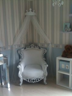 Glamorous Nursery - fit for a prince