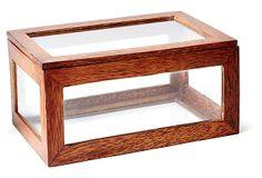 Coconut Tree Wood Box, Brown on OneKingsLane.com