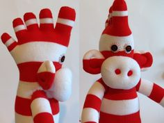 toe sock monkey.