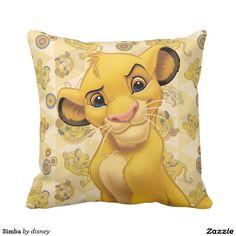 Simba Throw Pillow http://www.zazzle.com/disney?rf=238498825812378580