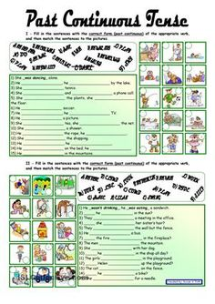 Past Continuous Tense *** with key *** fully editable worksheet - Free ESL printable worksheets made by teachers