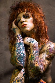 Tattoo Lady, beauty and grace with a twist of excitement Vintage Inspired, Portraits, Glamour, Fine Art, Lady, Photography, Inspiration, Beauty, Style