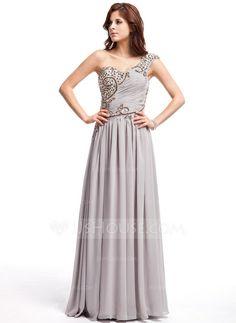 Prom Dresses - $152.99 - A-Line/Princess One-Shoulder Floor-Length Chiffon Prom Dress With Ruffle Beading Sequins (018025307) http://jjshouse.com/A-Line-Princess-One-Shoulder-Floor-Length-Chiffon-Prom-Dress-With-Ruffle-Beading-Sequins-018025307-g25307?ver=xdegc7h0