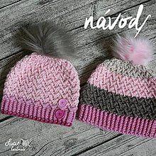 Návody a literatúra - NÁVOD č.85**.. UNI zimní jemný - 7287377_ Crochet Baby, Knitted Hats, Winter Hats, Knitting, Handmade, Owl Hat, Fashion, Strands, Stars