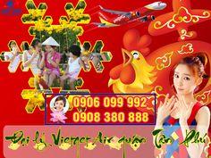 Giao vé máy bay tết Vietjet Air miễn phí đường Âu Cơ