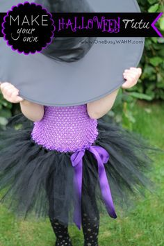 How To Make A Halloween Tutu For Less Than £5