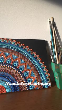 Dot Art Painting, Mandala Painting, Painting Patterns, Mandela Art, Mandala Canvas, Colored Pencil Techniques, Mandala Rocks, Zen Art, Aboriginal Art