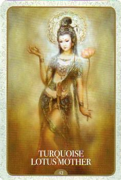 Kuan yin oracle the images are so pretty asian art pinterest 78 whispers in my ear turquoise lotus mother kuan yin oracle thecheapjerseys Gallery