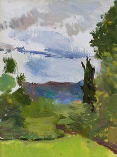 Alex Fowler - Small Lucigniano Landscape