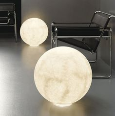 Floor Moon Lamp