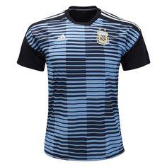 9a8b94cb947 adidas Argentina Pre Match Training Jersey 2018