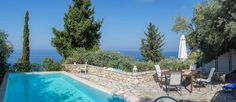 New villa for summer 2018 Summer Vacations, Villas, Greece, Island, Outdoor Decor, Nature, Greece Country, Naturaleza, Villa