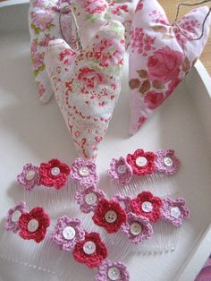 Hearts and Hairclips by RubyRed06, via Flickr