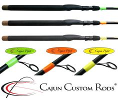 "Hands down … the Cajun Popit™ rod series are the best popping cork rods in the world!  Made in the USA and America's only exclusively designed popping cork fishing rod, these technique specific inshore popping cork rods are Cajun-designed to hurl your favorite popping cork rig!  CSP-776MF-S (CP) ROD SPECS: 7'6"" / 10-17 lb / Medium / Fast / ¼-3/4 oz  Available at:  http://www.cajuncustomrods.com/category/rod-series/cajun-popit/"