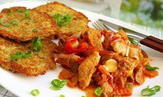 Tip na zítřejší oběd od Nadi :) No Salt Recipes, Pork Recipes, Snack Recipes, Dinner Recipes, Cooking Recipes, Czech Recipes, Ethnic Recipes, Food 52, Food And Drink