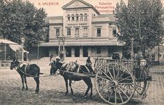 Estación de Pont de Fusta (1918)
