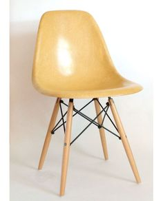 Customize your Vintage Eames Chair By Herman Miller! These are gently loved chairs from the famous design duo Eames and Herman Miller. Manufactured in the US, this particular shell color is from a 196
