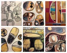 Michèle Brown Artist - The Old Cells Studio: Sketchbook drawings