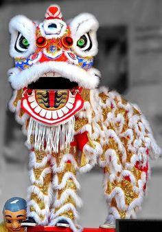 videos lion and dragon dance, cute crown idea Lion Dance Costume, Dragon Costume, Chinese New Year Dragon, Chinese New Year Crafts, Chinese Lion Dance, Chinese Art, Chinese Opera, Chinese Food, China