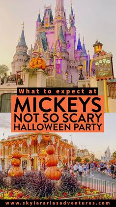 A guide on what to expect at Mickeys Not So Scary Halloween Party at Disney World, including some tips to make the most of your visit. #mickeysnotsoscaryhalloweenparty #notsoscary #disneyworld #disneyparks #disneyblog #waltdisneyworld #traveltips #disneytips #familytravel #halloweenideas #halloween