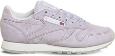 REEBOK Classic lace-up suede trainers