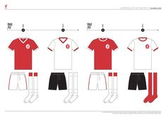 Liverpool FC Kit History, from 1892 to 2020 on Behance Liverpool Kit History, Liverpool Fc Kit, Behance, Football, Logo, Soccer, Futbol, Logos, American Football