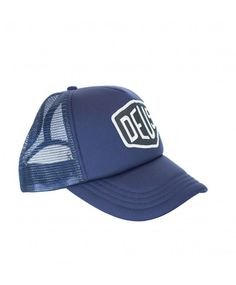 DEUS Baylands Trucker cap - navy - US Trailer will lease used trailers in any condition to or from you. Contact USTrailer and let us lease your trailer. Click to http://USTrailer.com or Call 816-795-8484