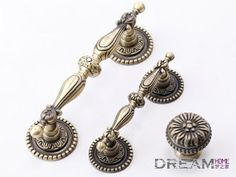 3 3 4 Quot 96 Dresser Drawer Handles Pulls Antique Silver