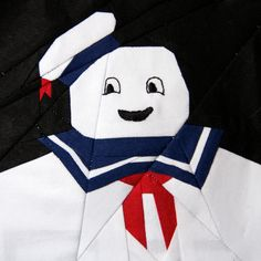 "https://flic.kr/p/bsEkW4 | Stay Puft | ""I tried to think of the most harmless thing. Something I loved from my childhood. Something that could never ever possibly destroy us. Mr. Stay Puft!""  Pattern will be available on fandominstitches.com!"
