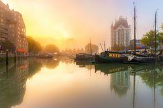 Prachtig Rotterdam - Oude Haven met zonsopkomst van Prachtig Rotterdam